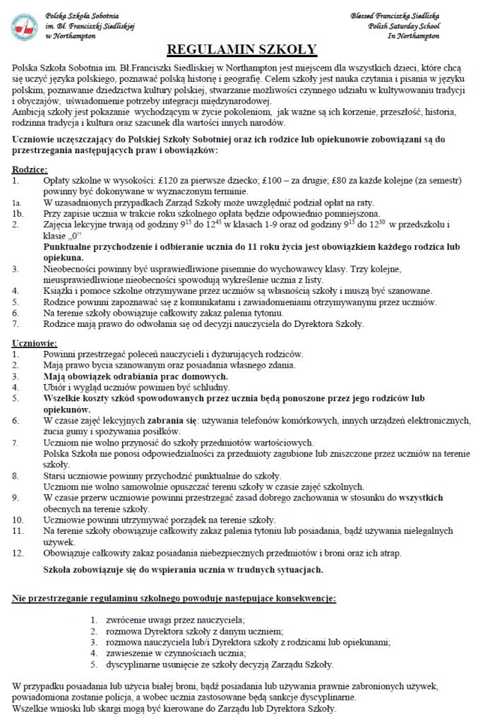 regulamin szkoly 2018-2019