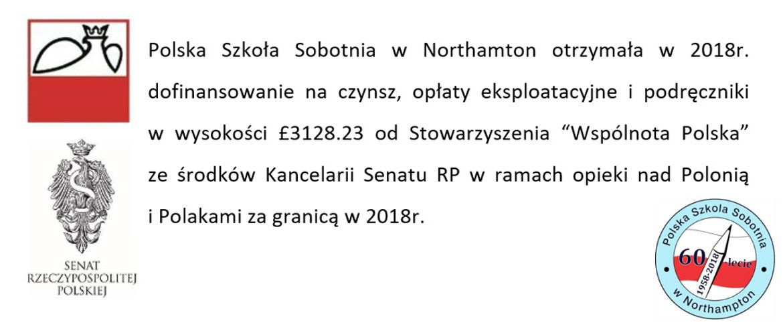 dofinansowanie PSS 2018