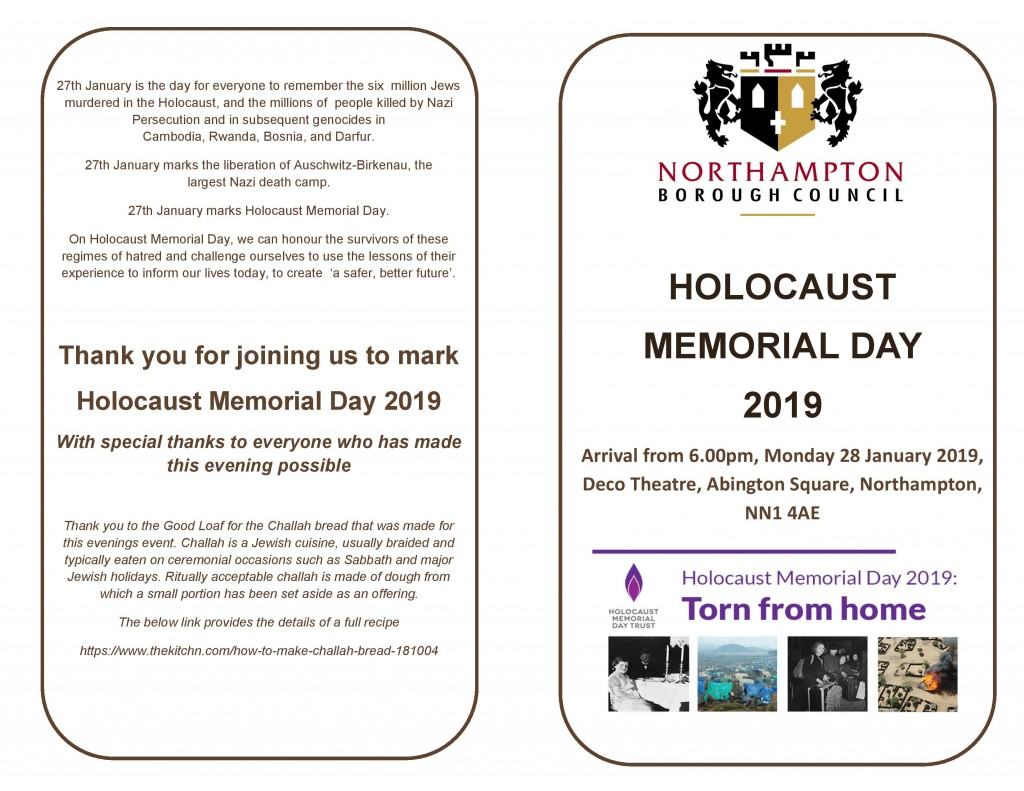 Holocaust Memorial 2019 - Programme - Final-page-001