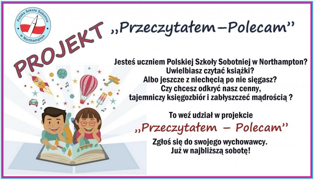 Projekt Przeczylaem-Polecam 2020
